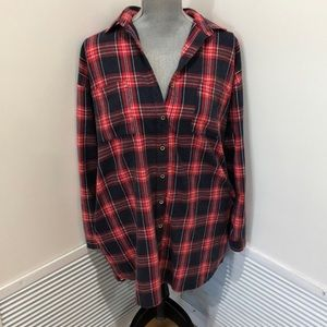 Vintage Flannel Dress